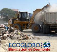 eliminacion Desmonte Ecoglobo sac