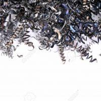 14371424-Virutas-de-acero-procedentes-de-CNC-con-espacio-para-el-texto-Foto-de-archivo